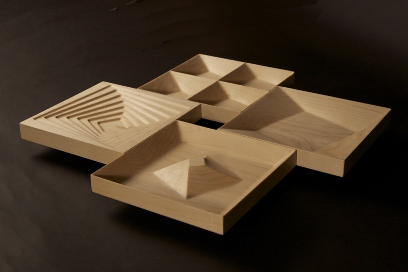 Inception Serving Bowls #3 by Moyu Zhang